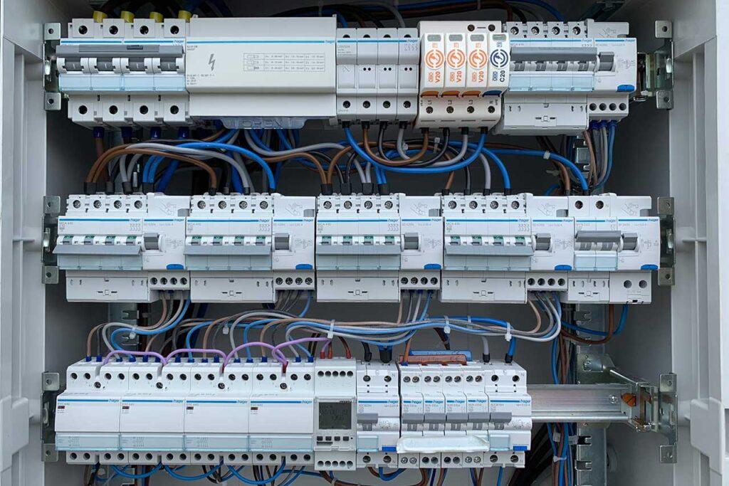 quadro elettrico commerciale